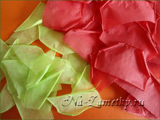 Как сделать из салфетки розу своими руками