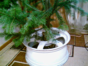 Подставка для елки 1