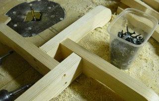Как сделать изотермический Сделать подставку для елки
