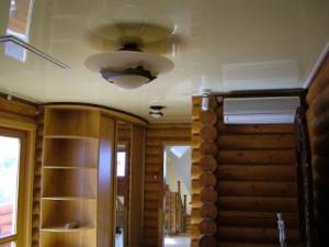 Натяжные потолки в доме 1