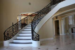 Кованая лестница 2